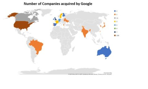 Companies acquired by Google